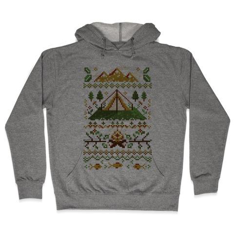 Ugly Camping Sweater Hooded Sweatshirt