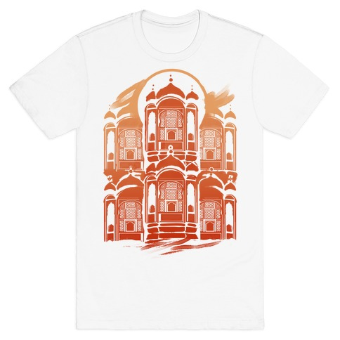 Hawa Mahal Palace Of The Winds Mens T-Shirt