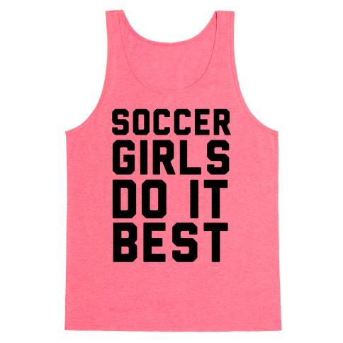 Soccer Girls Tank Top