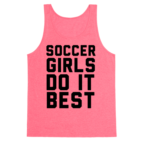 Soccer Girls Tank Top