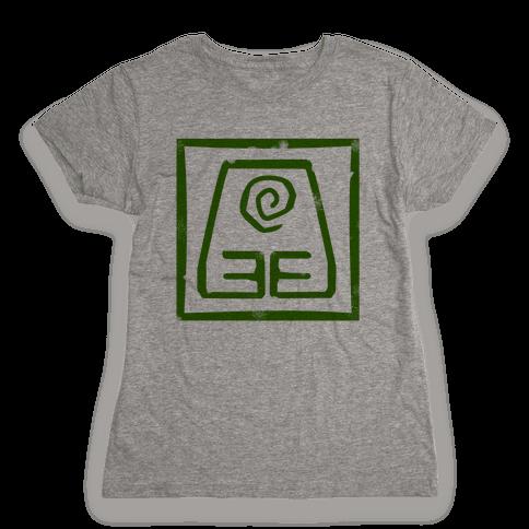 Earth Bender Womens T-Shirt