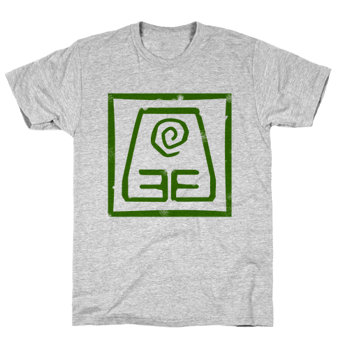 Earth Bender Mens T-Shirt