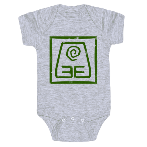 Earth Bender Baby Onesy