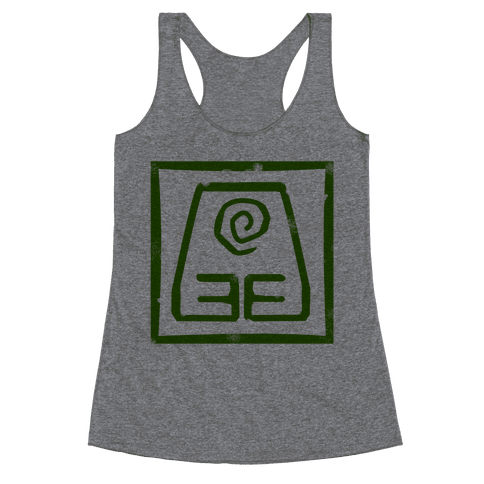 Earth Bender Racerback Tank Top