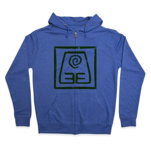Earth Bender Zip Hoodie