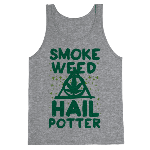 Smoke Weed Hail Potter Tank Top
