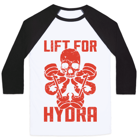 Lift For Hydra Baseball Tee