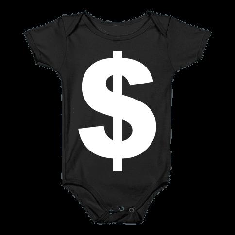 Money Baby Onesy