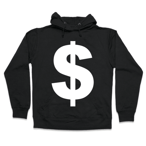 Money Hooded Sweatshirt