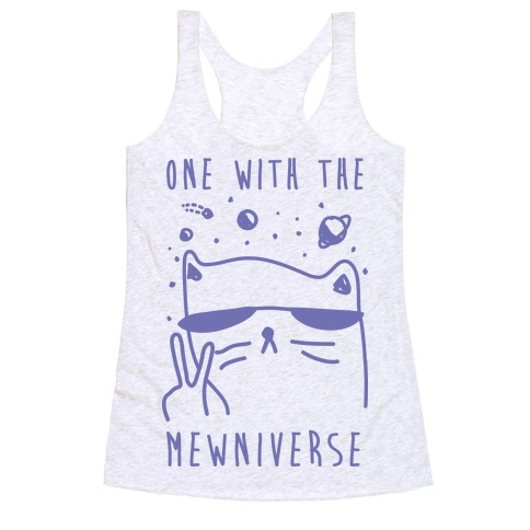 One With The Mewniverse Racerback Tank Top