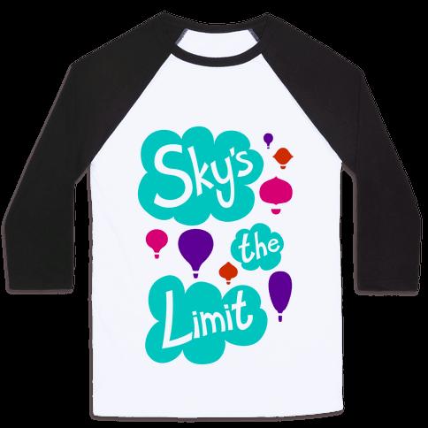 Sky's The Limit Baseball Tee
