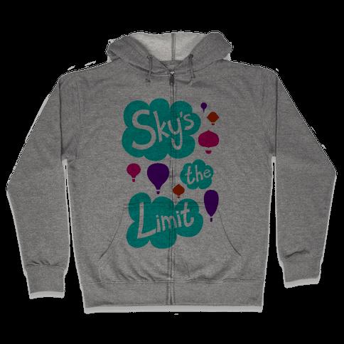 Sky's The Limit Zip Hoodie