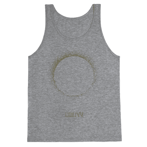 Total Eclipse Countdown Tank Top