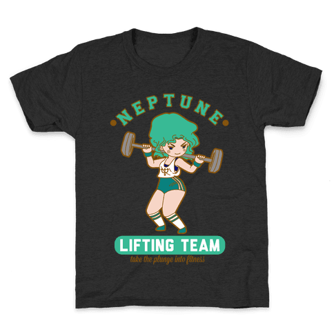 Neptune Lifting Team Parody Kids T-Shirt