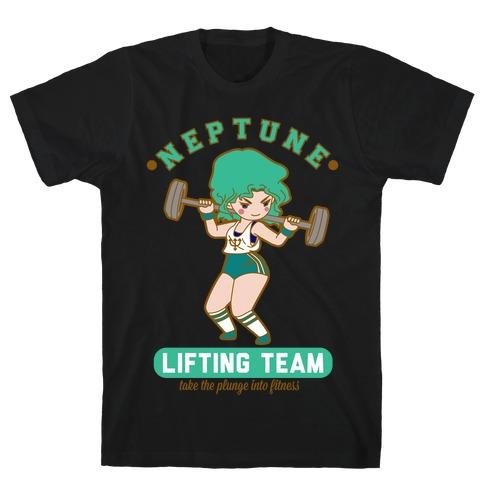 Neptune Lifting Team Parody Mens/Unisex T-Shirt