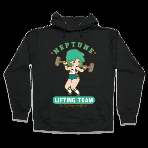 Neptune Lifting Team Parody Hooded Sweatshirt