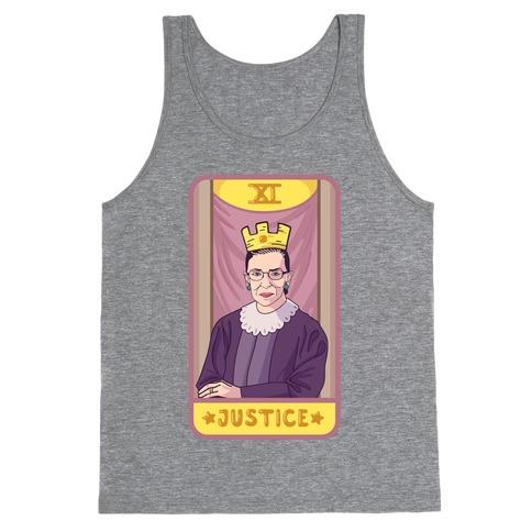 Ruth Bader Ginsburg Justice Tarot Tank Top