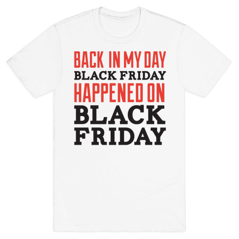 Black friday was blackfriday Mens T-Shirt