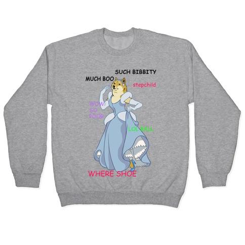 Cinderella Doge Pullover
