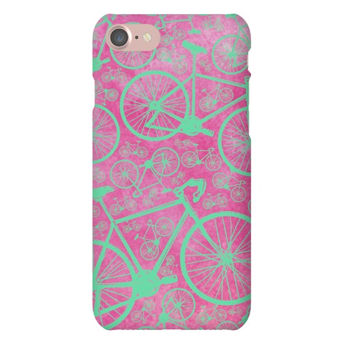 All Bikes Go Full Circle (Purple) Phone Case