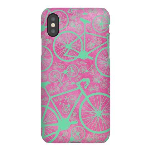 All Bikes Go Full Circle (Purple) Phone Case
