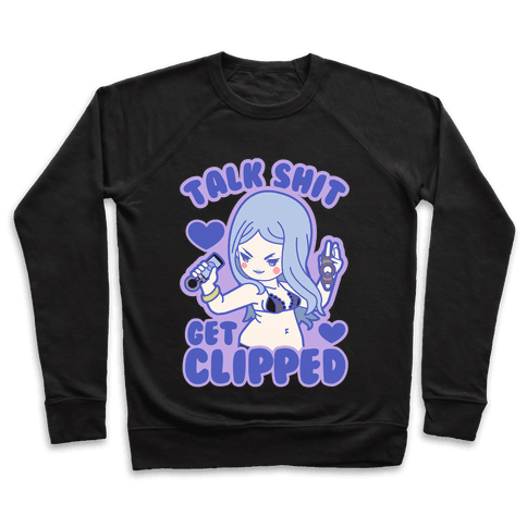 Talk Shit Get Clipped Johnny Cutter Parody Pullover