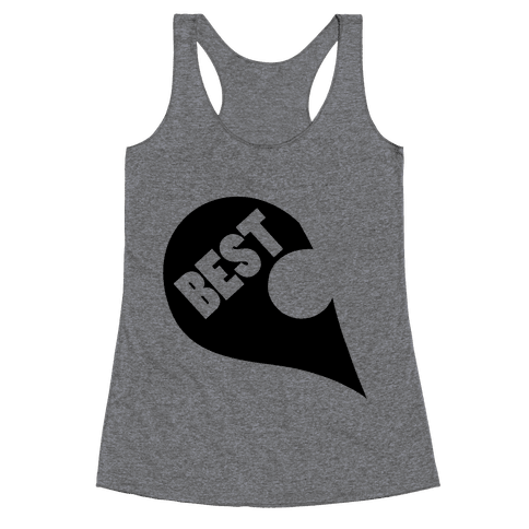 Besties PT 1. Racerback Tank Top