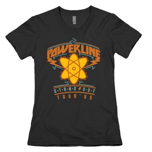 Powerline Tour Womens T-Shirt