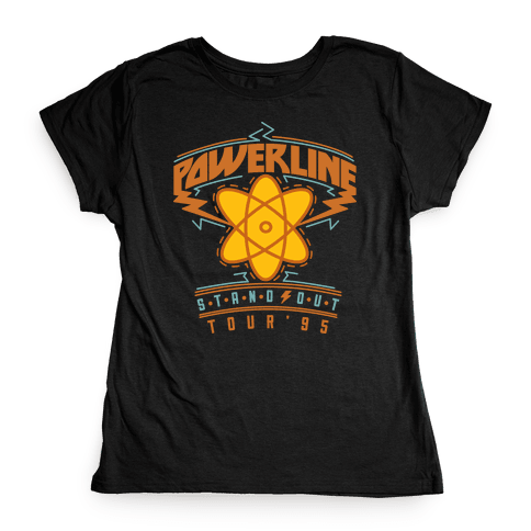 Powerline Tour Womens T-Shirt
