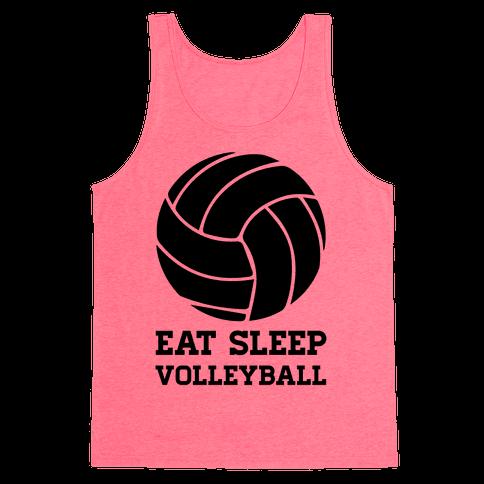 Eat Sleep Volleyball Tank Top