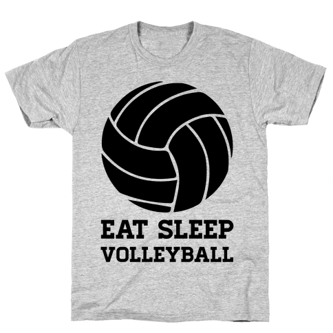 Eat Sleep Volleyball Mens T-Shirt