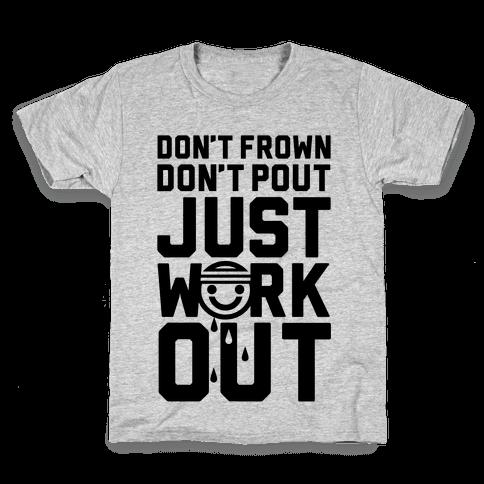 Just Workout Kids T-Shirt