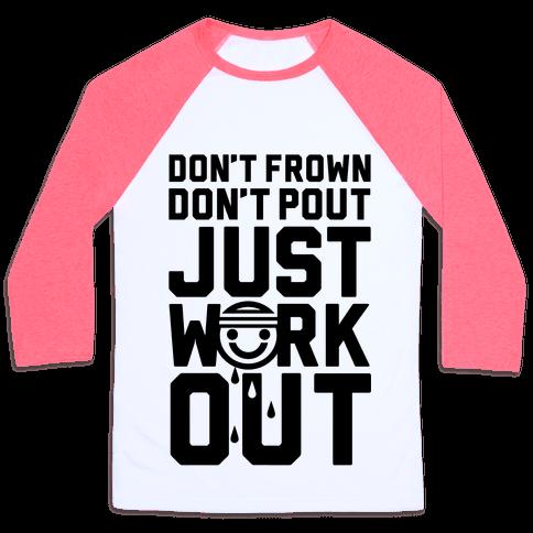 Just Workout Baseball Tee