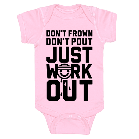 Just Workout Baby Onesy