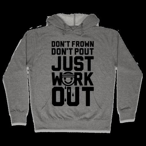 Just Workout Hooded Sweatshirt