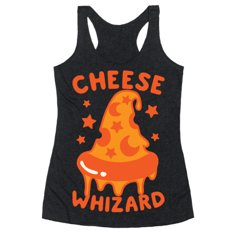 Cheese Whizard Racerback Tank Top