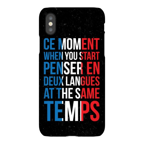 Ce Moment When Phone Case