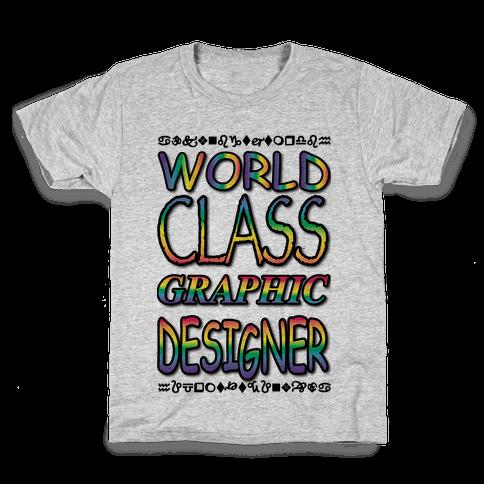 World Class Designer Kids T-Shirt