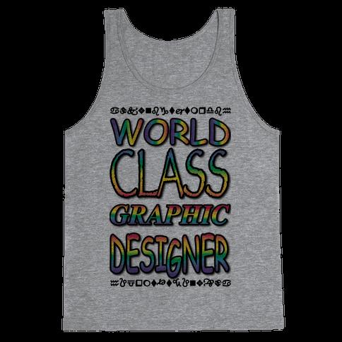 World Class Designer Tank Top