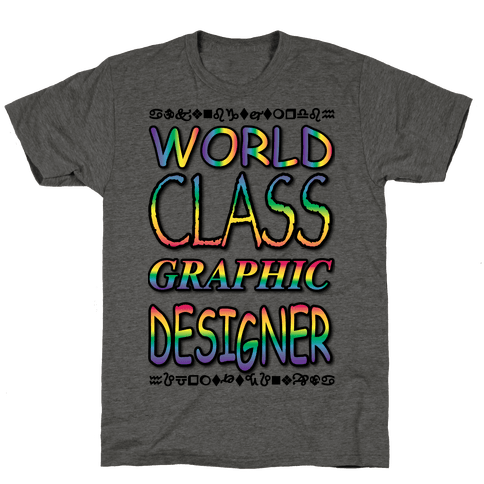 World Class Designer Mens T-Shirt