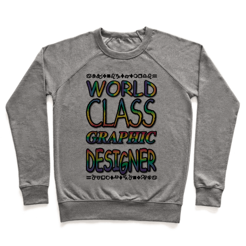 World Class Designer Pullover