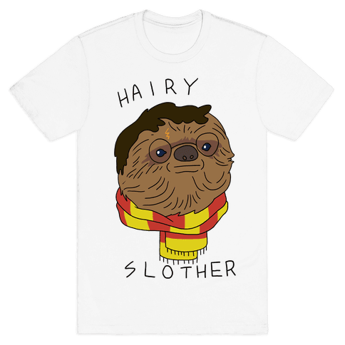 Hairy Slother Mens T-Shirt