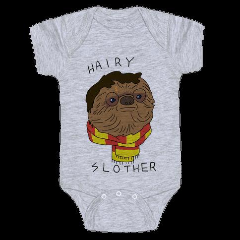 Hairy Slother Baby Onesy