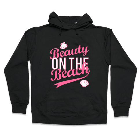 Beauty on the Beach (Dark Tank) Hooded Sweatshirt