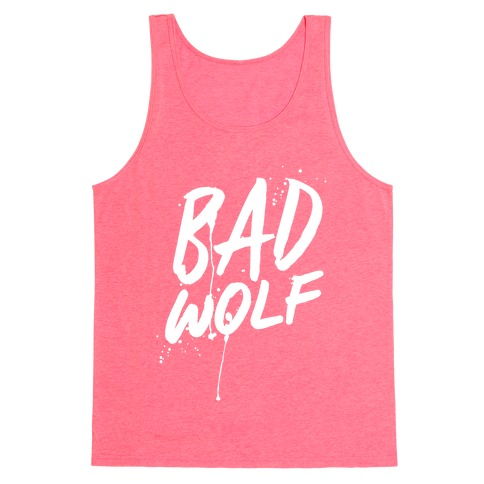 Doctor Who Bad Wolf Tank Top