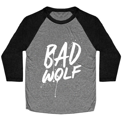 Doctor Who Bad Wolf Baseball Tee