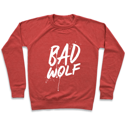 Doctor Who Bad Wolf Pullover