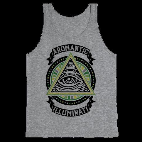 Aromantic Illuminati Tank Top