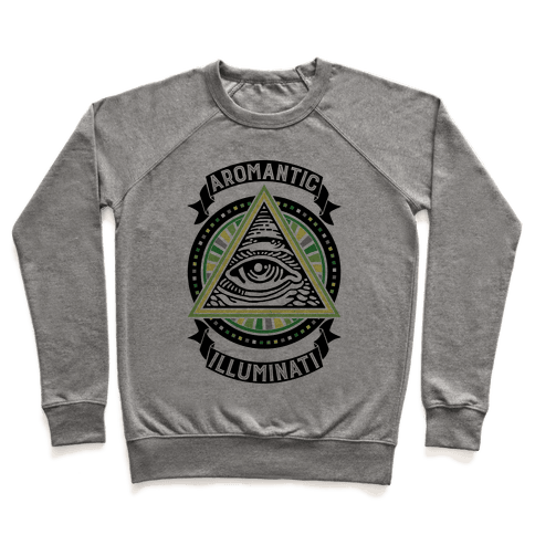 Aromantic Illuminati Pullover