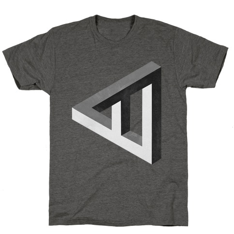 Triangle Optical Illusion T-Shirt